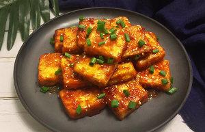 糖醋脆皮豆腐的做法 步骤7