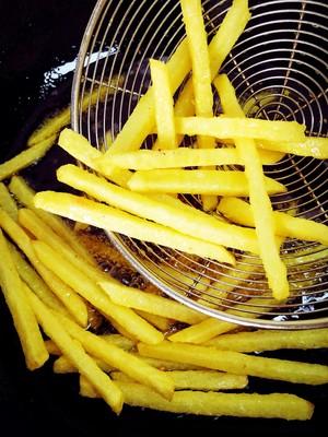 自制炸薯条的做法 步骤19