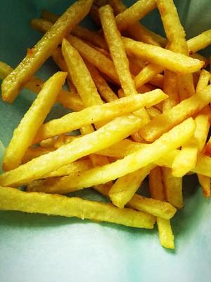 自制炸薯条的做法 步骤21