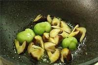 香菇油菜的做法 步骤6