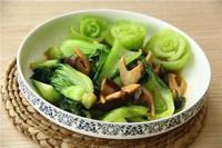 香菇油菜的做法 步骤9