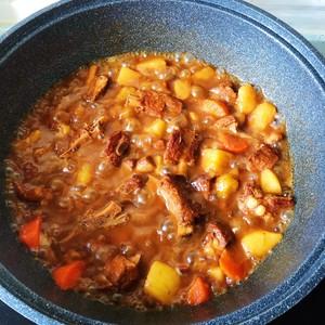 红烧排骨炖土豆的做法 步骤4