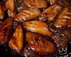 小婷下厨房.蜜汁鸡翅的做法 步骤6