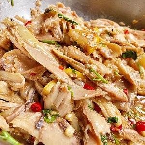 家庭版的手撕鸡的做法 步骤6