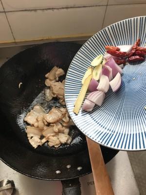 干锅菜花的做法 步骤6