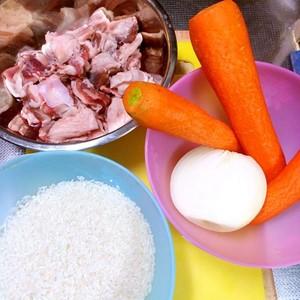 羊肉抓饭的做法 步骤1