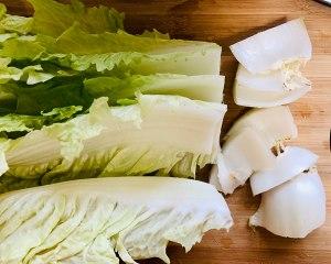 绝对好吃的醋熘白菜的做法 步骤2