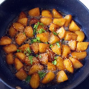 糖醋土豆的做法 步骤8