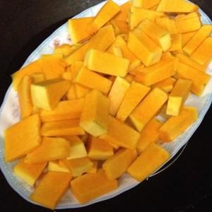 雪花南瓜饼的做法 步骤2