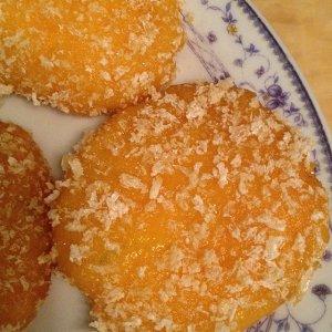雪花南瓜饼的做法 步骤8
