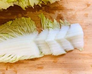 绝对好吃的醋熘白菜的做法 步骤3