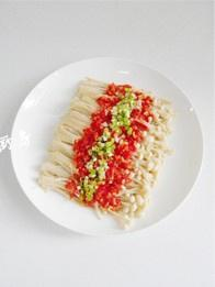 剁椒金针菇的做法 步骤5