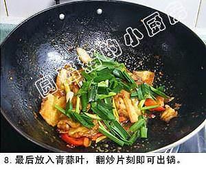 四川回锅肉的做法 步骤8