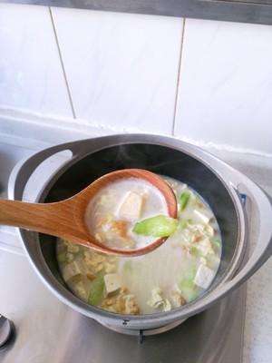 丝瓜豆腐汤(附奶白色汤方法)的做法 步骤16