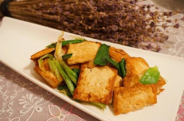 香煎豆腐--家常豆腐的做法