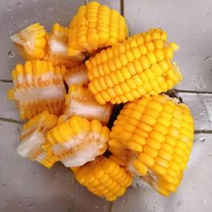 香菇玉米素蔬养生汤 没难度的做法 步骤3