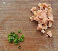 蛋包豆腐丁的做法 步骤9