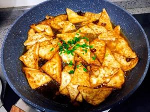香煎豆腐的做法 步骤9