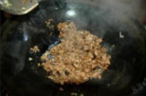 肉沫茄子的做法 步骤4