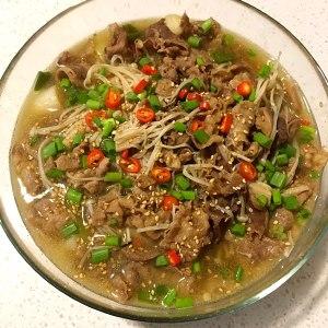 肥牛金针菇的做法 步骤10