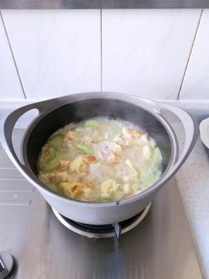 丝瓜豆腐汤(附奶白色汤方法)的做法 步骤15