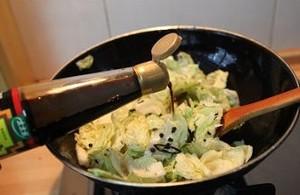 炝炒包心菜的做法 步骤6
