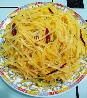 酸辣土豆丝的做法 步骤7