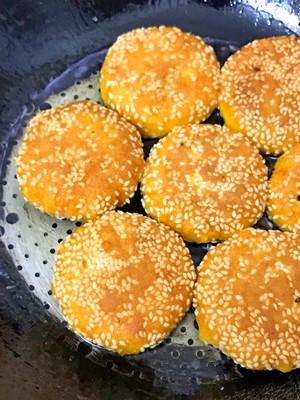 芝麻南瓜饼的做法 步骤11