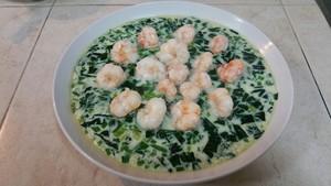 菠菜虾仁蒸蛋的做法 步骤23
