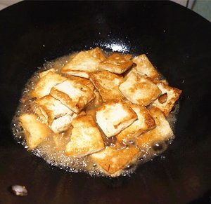 香煎豆腐--家常豆腐的做法 步骤5
