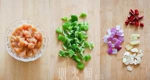豉椒鸡丁的做法 步骤1