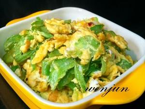 苦瓜炒蛋(清火菜)的做法 步骤8