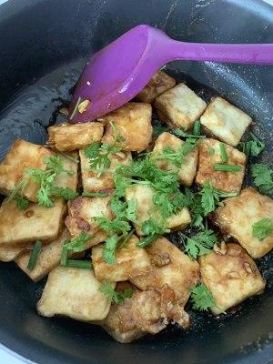 无敌好吃的香煎豆腐的做法 步骤7