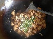 蒜香肉末烧豆腐的做法 步骤9