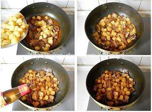 土豆烧排骨的做法 步骤7