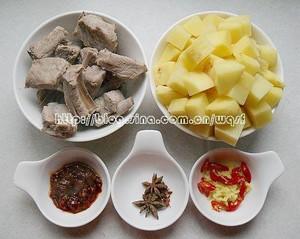 土豆烧排骨的做法 步骤2
