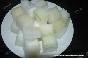 红烧冬瓜的做法 步骤1