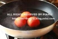 番茄菜花的做法 步骤2