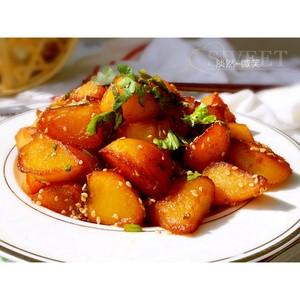 糖醋土豆的做法 步骤9