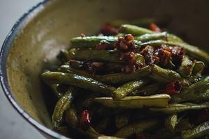 干煸四季豆的做法 步骤7