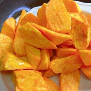 拔丝红薯的做法 步骤5