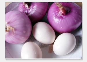 洋葱炒鸡蛋的做法 步骤1