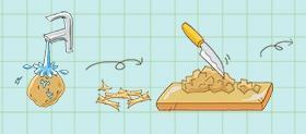 土豆虾球的做法 步骤1