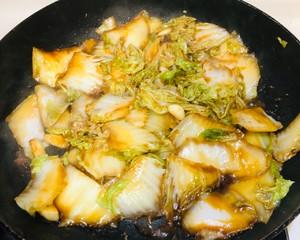 绝对好吃的醋熘白菜的做法 步骤11