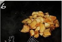 三杯杏鲍菇的做法 步骤6
