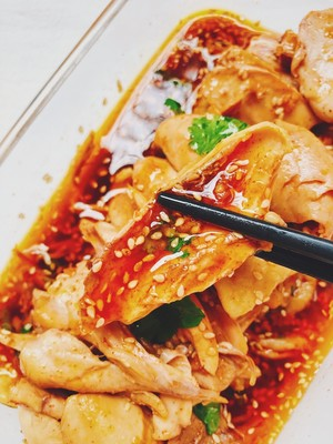 麻辣口水鸡(家常版)的做法 步骤9