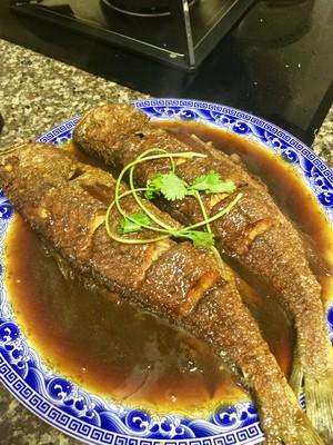 红烧黄花鱼的做法 步骤10