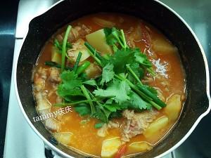 番茄土豆肥牛锅的做法 步骤8