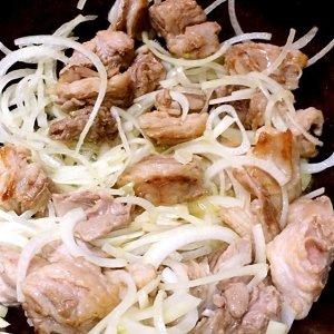 羊肉抓饭的做法 步骤4