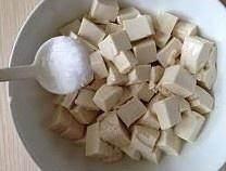 蒜香肉末烧豆腐的做法 步骤3